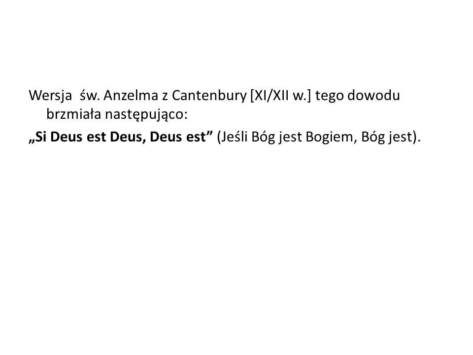 Wersja św. Anzelma z Cantenbury [XI/XII w